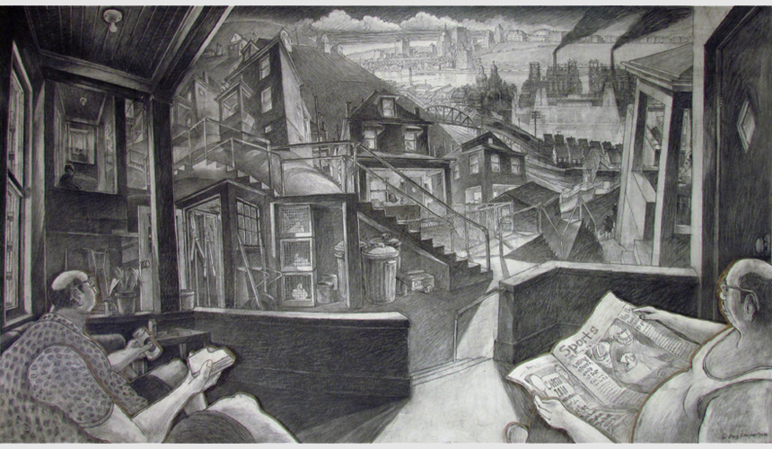 Back Porch (Pinburgh-Scene 9), 2010