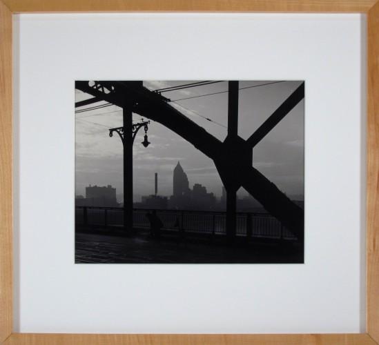 Untitled (Bridge Paver with Skyline)