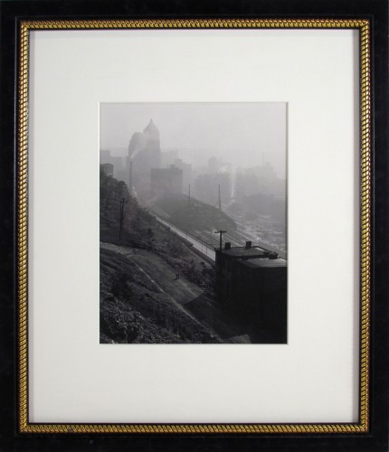 Untitled (City View, Railroad Station)