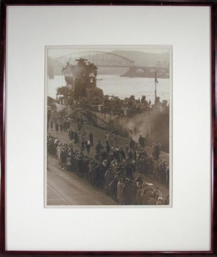 Launching the Ship, 1950