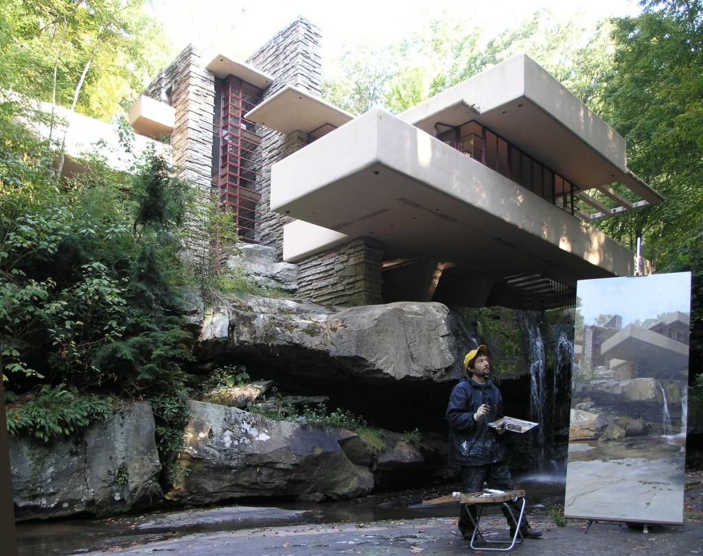 Felix De La Concha S Fallingwater En Perspectiva Concept