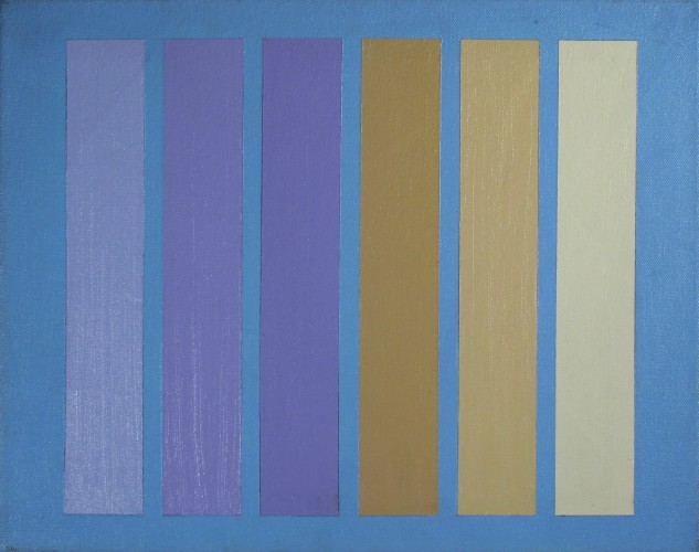 Purple and Yellow Stripes, 1981
