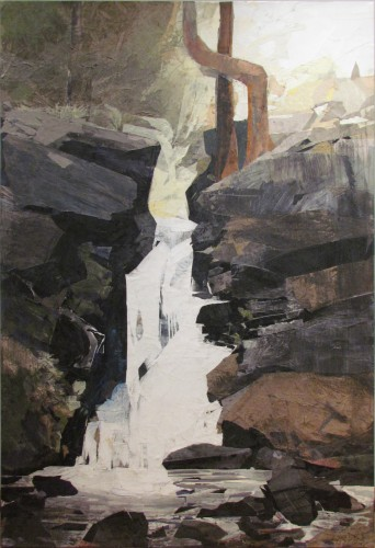 First Falls with Yellow Sky, 2009